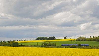 Tågtrafiken på sträckan Eslöv-Marieholm-Helsingborg påverkas av Trafikverkets arbete 6–10 maj