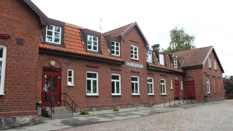 Marieskolan, ombyggnad