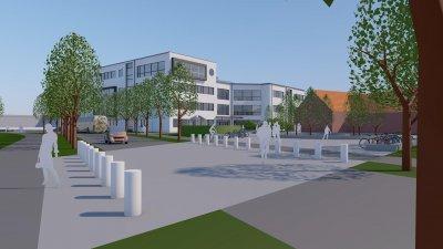Ny gymnasieskola i centrala Eslöv