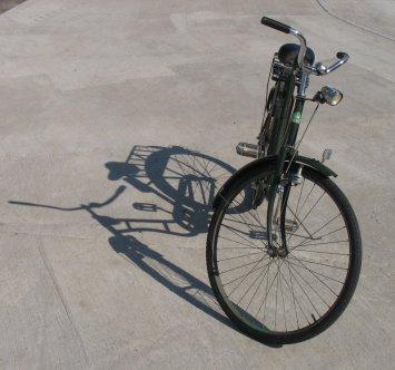 Övergiven cykel