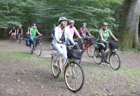 Flera cyklister i Eslövs allmä'nning