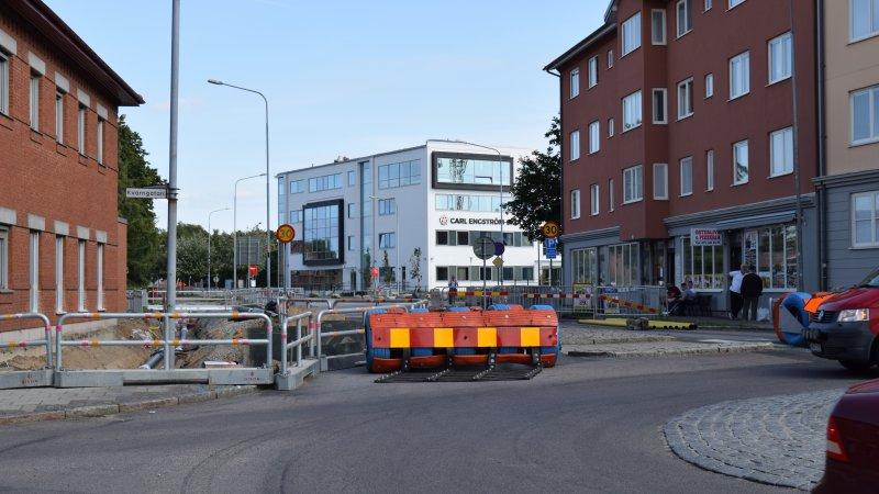 Östergatan, ombyggnad