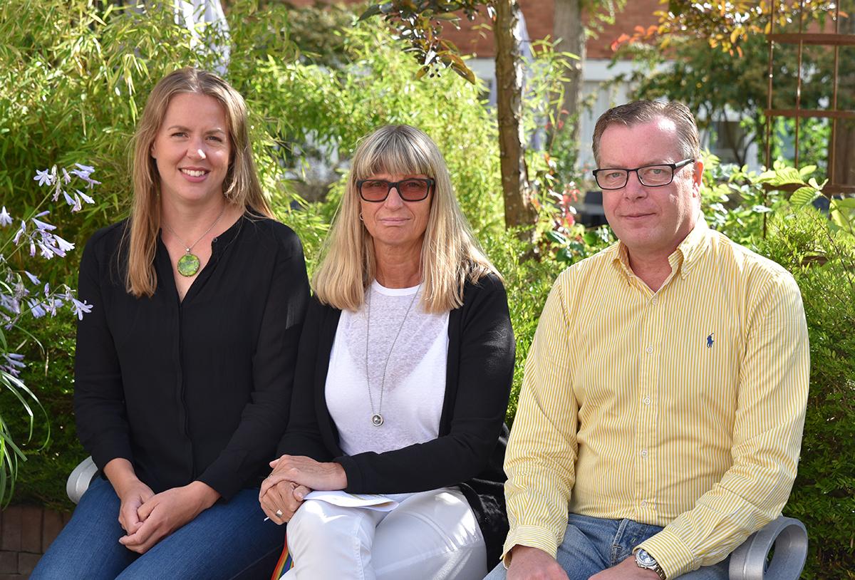 Annie Niubó, Ingrid Westerlund och Kristian Kaaling