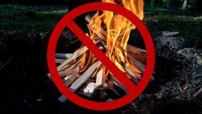 När det råder eldningsförbud