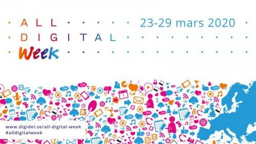 All digital week: Bli säker på nätet!