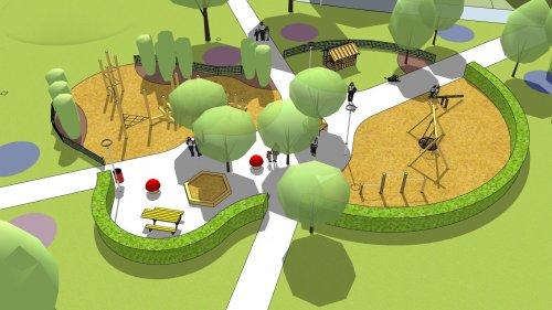 Invigning av Hällans lekplats
