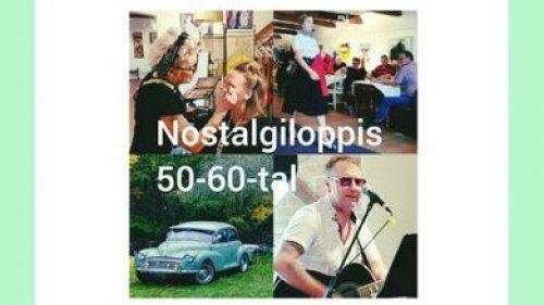 INSTÄLLD! 50-60 tals nostalgiloppis
