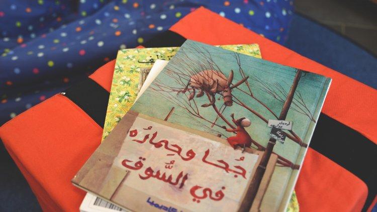 Sagostund på arabiska
