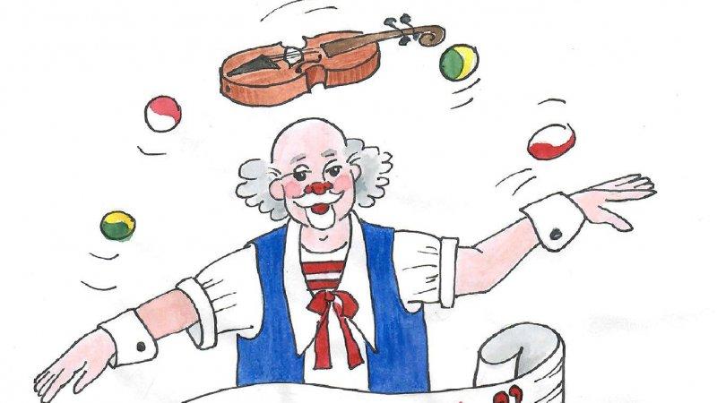 Clownen Vondo – clownmagi för de minsta