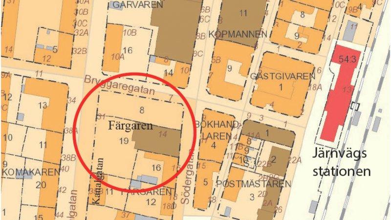 Detaljplan för Färgaren 8 och Färgaren 19 i Eslöv kommun