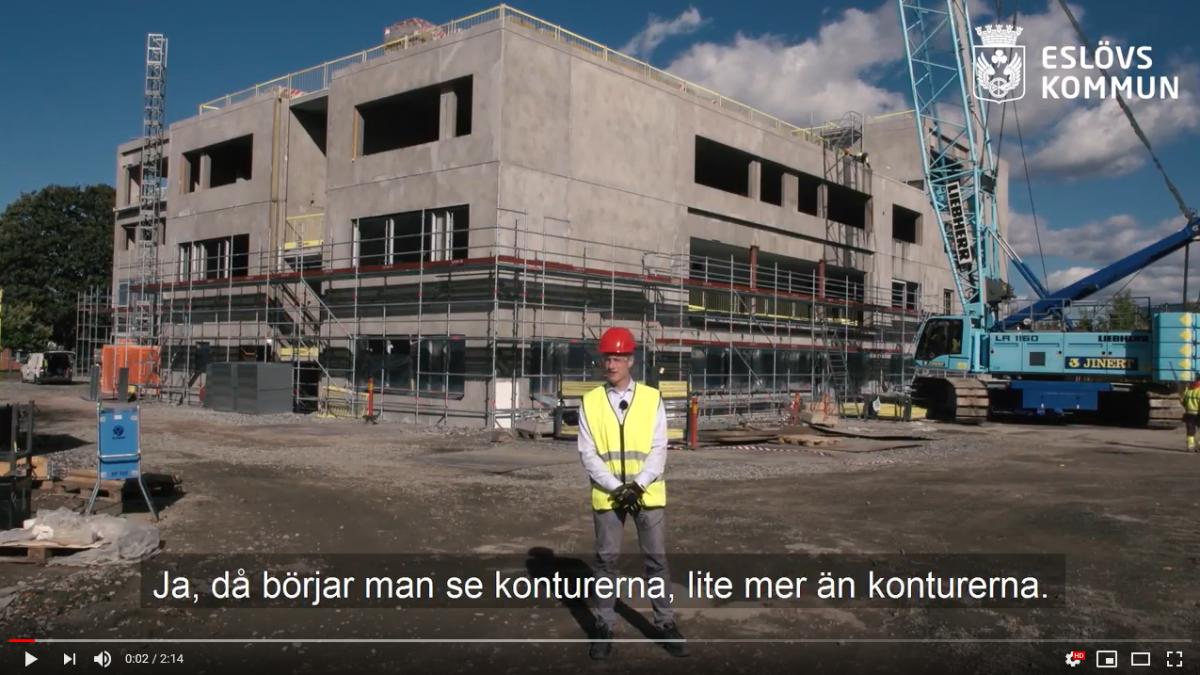 Följ bygget av Carl Engström-skolan