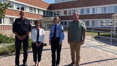 Överenskommelse om samverkan för ökad trygghet i Eslöv 2021–2022