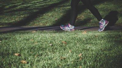 Motionsspår och utegym