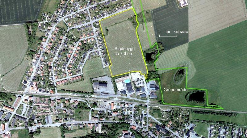 Nytt bostadsområde i Marieholm