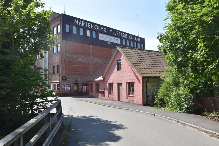 Gamla yllefabriken i Marieholm