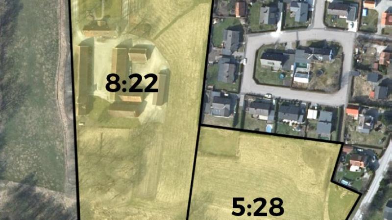 Östra Gårdstånga 8:22 och 5:28 i Flyinge, detaljplan