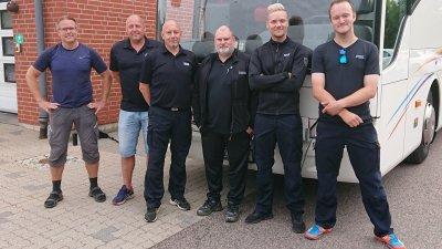 Räddningstjänsten Syd skickar personal till skogsbränderna i Gävleborgs län