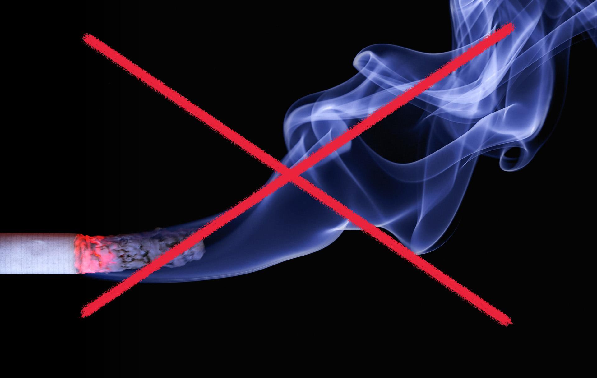 Rökförbud på uteserveringar och vid entréer from 1 juli