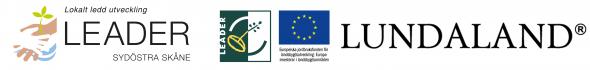 Logotyper för Leader och EU
