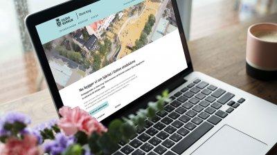 Stora torg har fått en egen webbplats