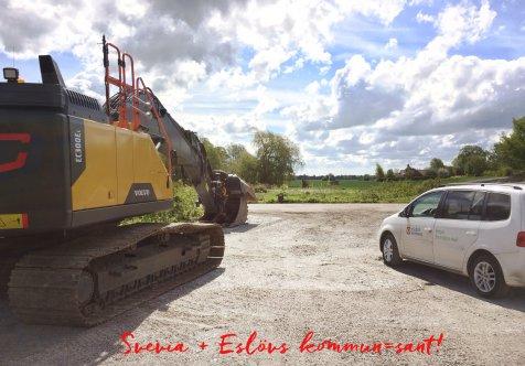 Svevia och Eslövs kommun i gemensamt saneringsprojekt